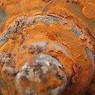 round rust  by Roseanna