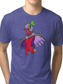 Shiny Hawlucha Tri-blend T-Shirt