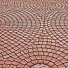 Brick path by Usman Bajwa