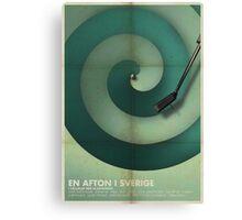 En Afton I Sverige Canvas Print