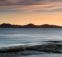 Sunset over Nelson Bay by Michael Howard