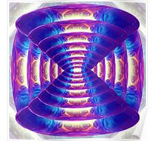14 Spheres Abstract Poster