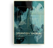 "Operation ""Badrum"" Metal Print"