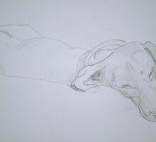Audrey Asleep by Tim Brott