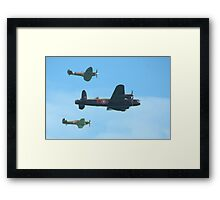 Aircraft of WW2 Framed Print