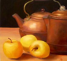 Copper Kettles by Diana Davydova