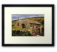 The Church of the Storms Framed Print