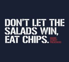 Salad Vs. Chips by zombieconchord