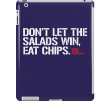Salad Vs. Chips iPad Case/Skin
