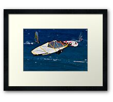 Big Air .... Maui  Framed Print