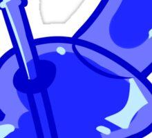 Blue Bong Sticker