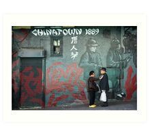 Chinatown, San Francisco Art Print