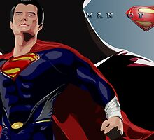 The Man of Steel by BayuGrafis