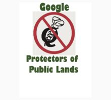 4Q T-Shirt . Style T5 Google Protectors of Public Lands by 4Kew