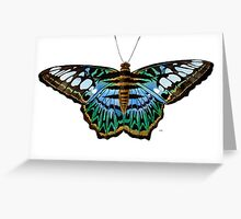The Blue Clipper Butterfly Greeting Card