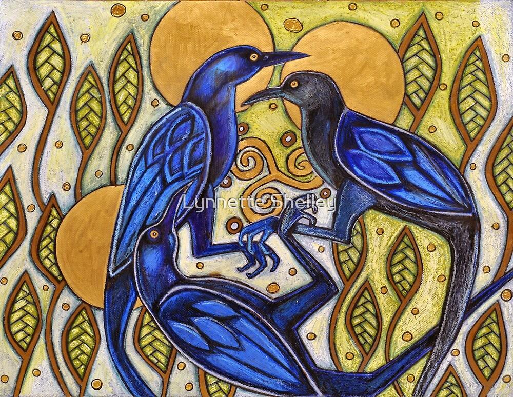 Three Ravens by Lynnette Shelley