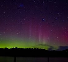 Aurora Australis, Trial Bay, Tasmania, 19 March 2015 by Odille Esmonde-Morgan