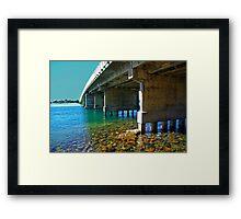 Forster tuncurry bridge Framed Print