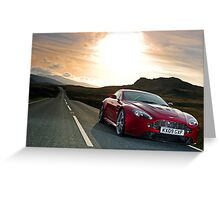 The awesome Aston Martin V12 Vantage .... Greeting Card