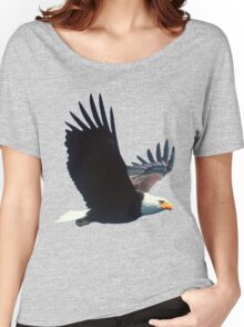 Eagle in Flight Women's Relaxed Fit T-Shirt