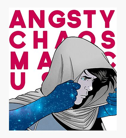 angsty chaos magic user Photographic Print
