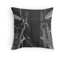 Visions of the worlds frist Ironbridge (structure) Throw Pillow