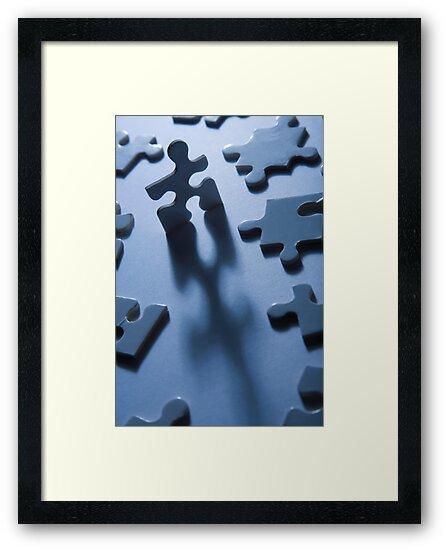 Jigsaw Man by Alex  Bramwell