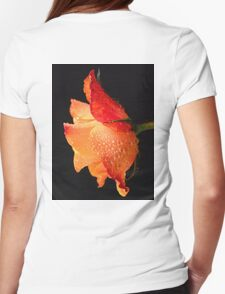 Lovely rose. Womens Fitted T-Shirt