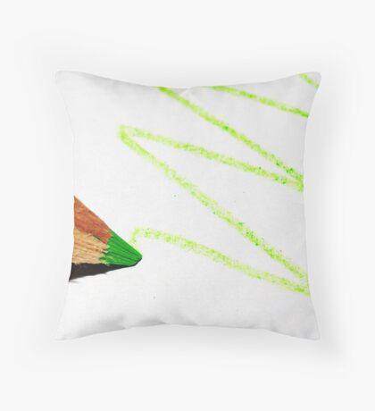 Crayon Throw Pillow