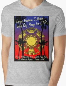 LHC WALKS ON THE BEACH Mens V-Neck T-Shirt