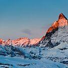 Matterhorn at sunrise by peterwey