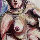 Nude in Pastel No. 5 by David Hinkle Southard
