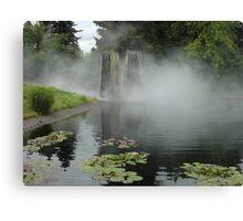 Mist on the Pond Canvas Print