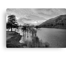 Loch Tay View - B&W Canvas Print