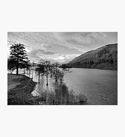 Loch Tay View - B&W Photographic Print