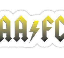Alloa ACDC Sticker