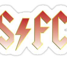 Stenhousemuir ACDC Sticker