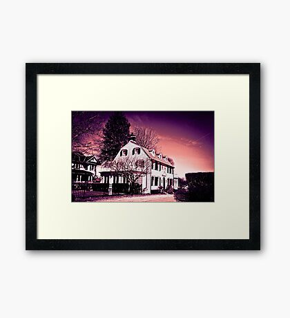 Amityville Horror House - Today ( 2015 ) Framed Print