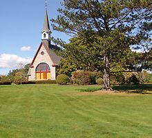 Grand Pre Church by George Cousins