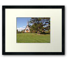 Grand Pre Church Framed Print