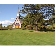 Grand Pre Church Photographic Print