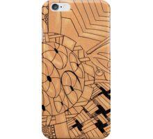 Zentangle cone iPhone Case/Skin