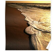Strawberry Ranch Beach Foam Poster