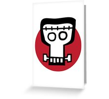 Get some monster skull. Greeting Card