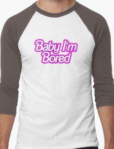 Barbie I'm Bored Men's Baseball ¾ T-Shirt