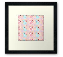 Bubblegum Macaron!! Framed Print
