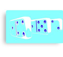 Abstract Dominoes 2 Canvas Print