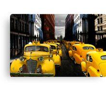 """taxi"" Canvas Print"