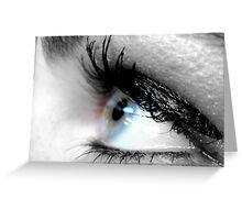 Eye Liner II Greeting Card