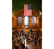 Central Buzz Photographic Print
